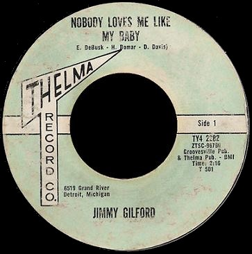 Jimmy Gilford - Nobody Loves Me Like My Baby