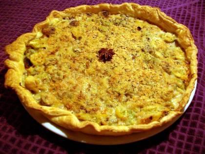 tarte aux légumes d'hiver