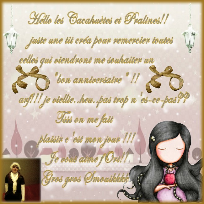 remerciement pour mon anniv by léa cassebonbon