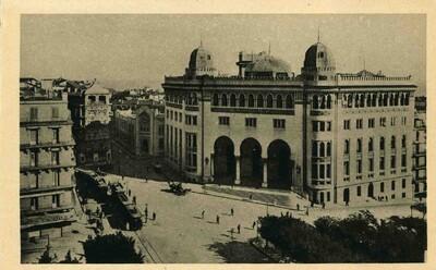 Carte postale d'Alger - La Grande Poste