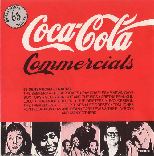 "Coca-Cola Commercials : "" Soul Only "" CD Coca-Cola Records CC1 [ South America ]"