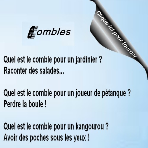 Humour Combles 8