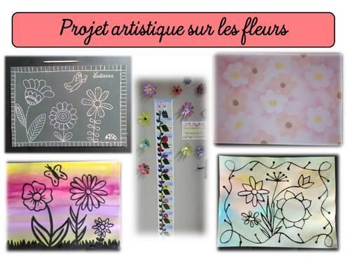 Projet artistique sur les fleurs