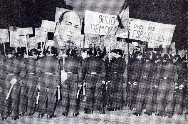 - 20 avril, hommage à Julian Grimau, dirigeant assassiné du Parti Communiste Espagnol, par le régime fasciste franquiste.