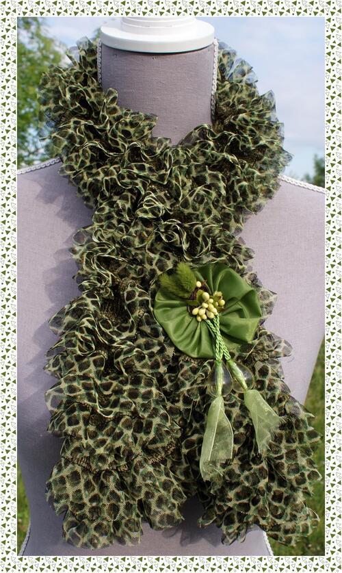 Echarpe papillon python