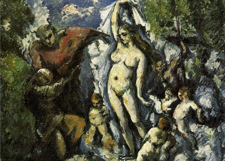 Cézanne / 5 /                  1867 :retour à la mythologie !