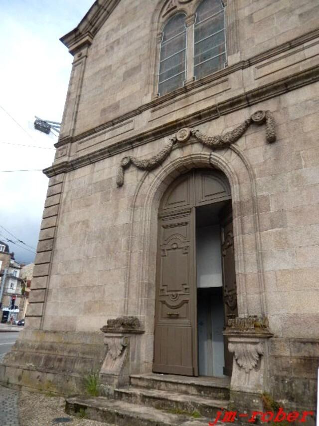Les Journées du patrimoine 2017: la ville de Limoges nous ouvrait les portes de son patrimoine sur la chapelle des sœurs hospitalières de Saint Alexis