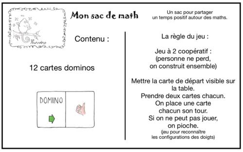 Des sacs de math