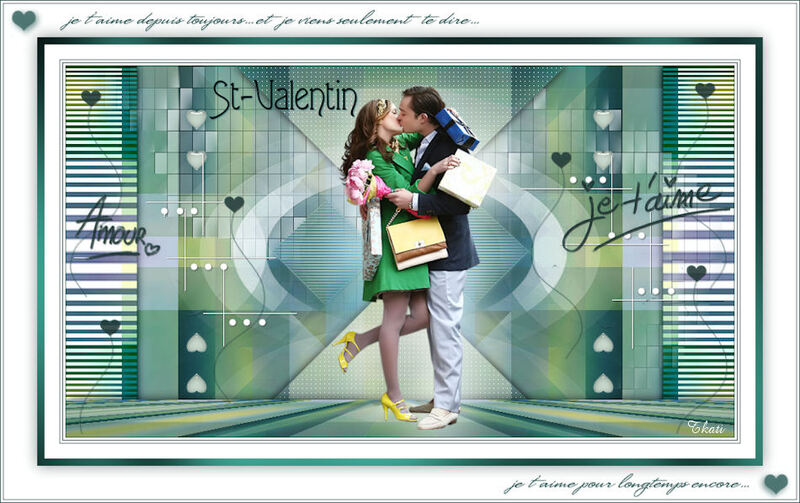 St Valentin by Violette Graphic