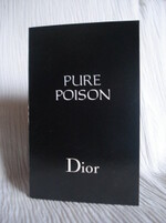 PURE POISON TUBE CARTE