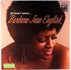 Barbara Jean English - So Many Ways - Complete LP
