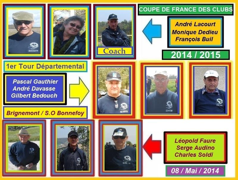 COUPE DE FRANCE 2014/2015 - 1ER TOUR DEPARTEMENTAL