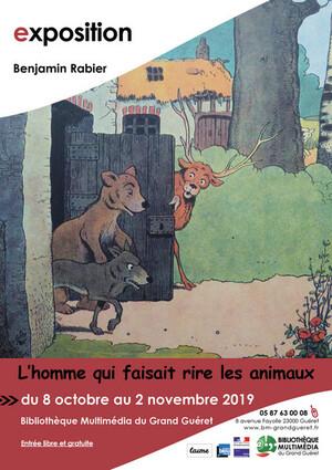 Benjamin Rabier qui faisait rire les animaux