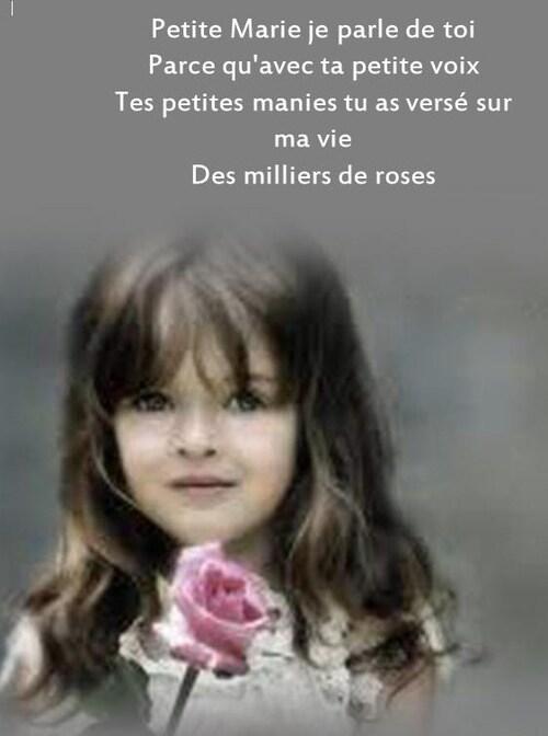 Francis Cabrel - Petite Marie (Lyrics)  - Petite Marie pps