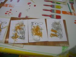 Illustration ronde Mon petit lapin