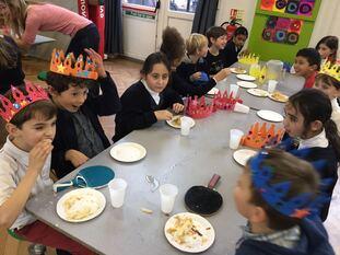 Visite de nos amies de l'école Saint Augustines Priory