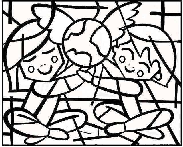 Coloriage Chat Romero Britto.Romero Britto Arts Visuels Cyberbrigade