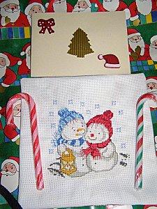 Sophie Allart à Véro54 Noël2009 PB260270