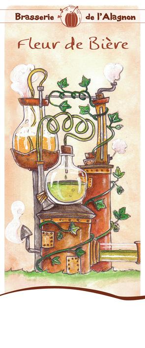 Brasserie de l'Alagnon Fleur de bière
