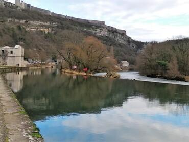 DRC - Besançon - Le Doubs et la Citadelle Vauban