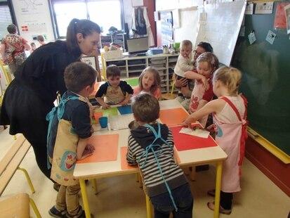 la semaine de l'école maternelle