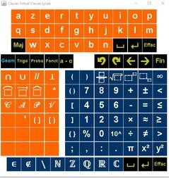 HaniMathkey : interface de saisie de formules mathématiques pour Word et Open Office