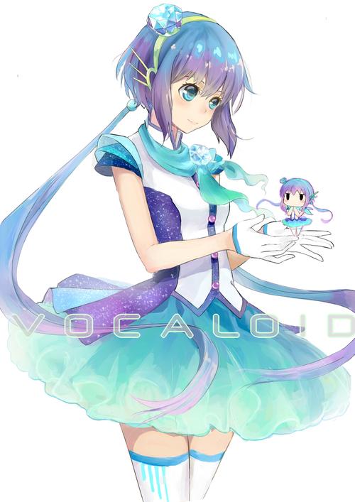 Image de vocaloid, aoki lapis, and anime