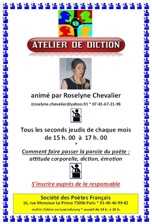 Ateliers de diction