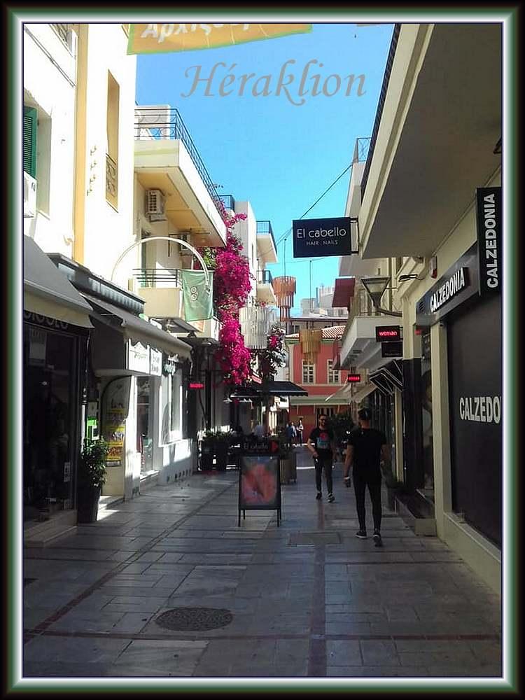 Héraklion : promenade dans la ville