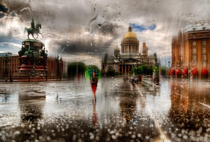 Rainy Saint Petersburg: Art photographique par Eduard Gordeev