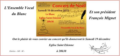 Concert de noël : Répétition ensemble vocal
