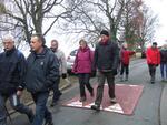 La randonnée du 12 janvier à Fleury-sur-Orne