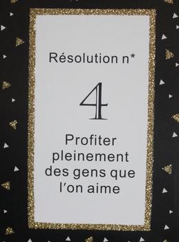 Une histoire de résolutions