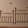 les essais pour le lit en cuivre: