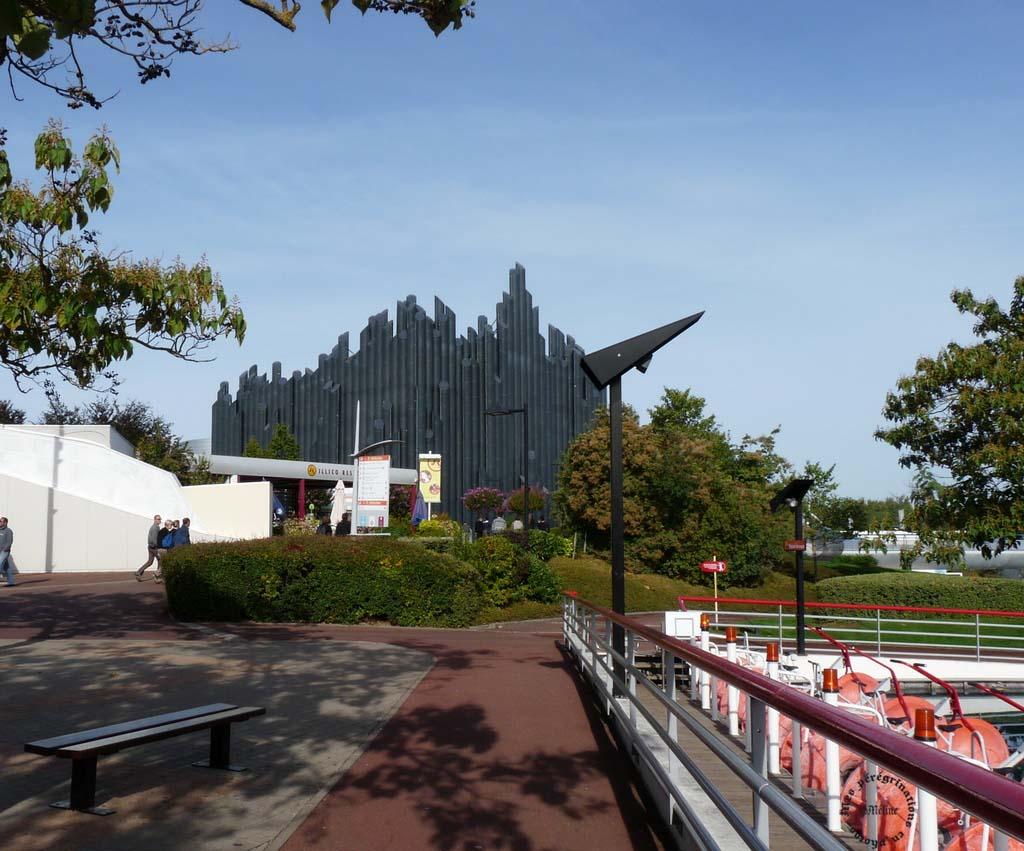 Visite du Parc du Futuroscope (8) Mes vacances avec mon amie Noisette en septembre 2012 !