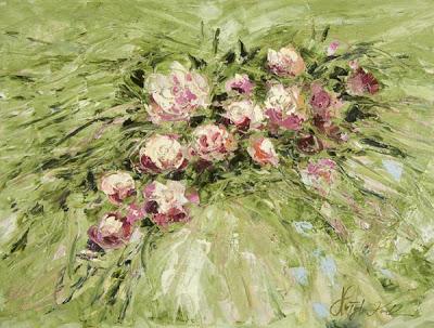 Peinture de l'artiste polonaise Malgorzata Kruk