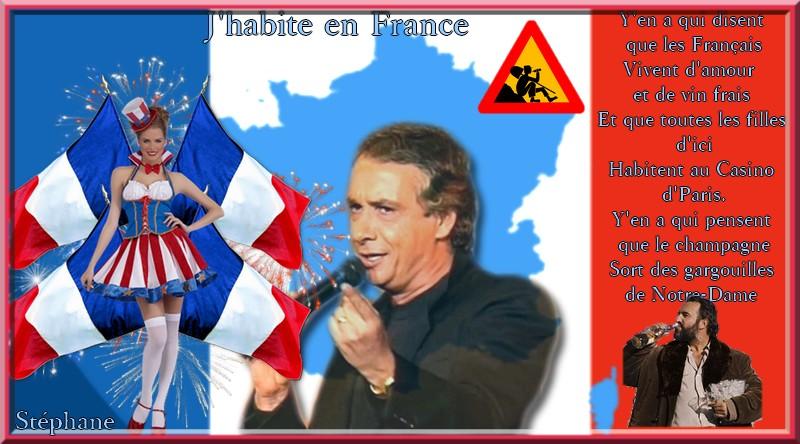 Défi pour Maman sur le blog du partage ' j'habite en France '