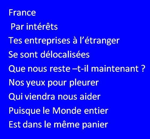 FRANCE.....Qui va nous aider .