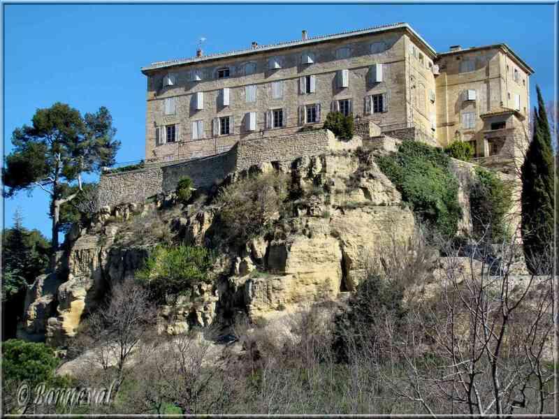 Lauris Vaucluse le château