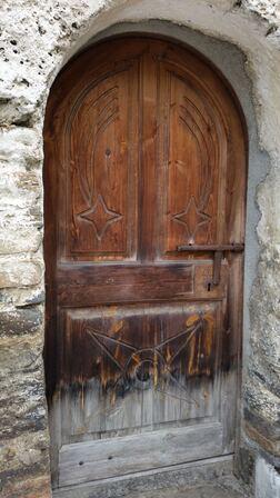 A l'église San Pere