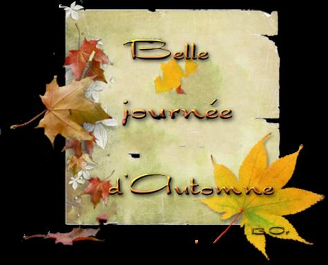 mots  automne