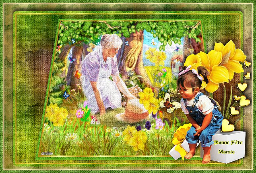 Bonne fête grands mère