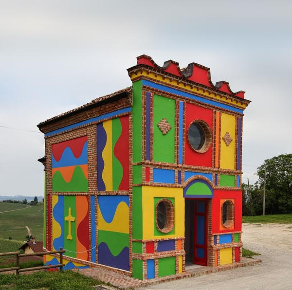 LIEUX CULTES–LIEUX ARTS, Sol Lewitt chapelle Italie