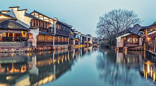 WUZHEN (CHINA) Beautiful Chinese Water Town (Ville d'eau chinoise) (Voyages),