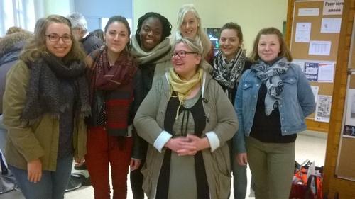 Les élèves de l'IFSI en photo