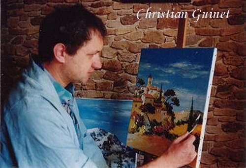 Peinture de : Christian Guinet