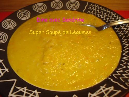 La Super Soupe de Légumes