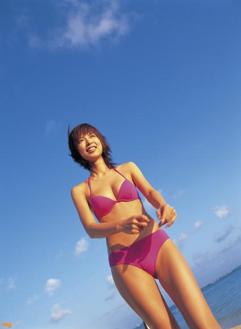 WEB Gravure : ( [Bomb.tv - GRAVURE Channel] - | 2005.07 | Mariko Okubo/大久保麻梨子 )