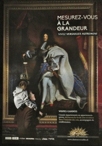affiche Versailles GRANDEUR