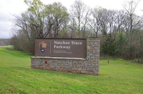 Jour 11 - Natchez Trace Parkway, de Natchez à Lafayette